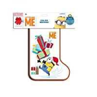 La Calza Cattivissimo Me 2017 Mattel contiene: 1 playset grande Minions 1 pallina A sorpresa uno tra i seguenti giochi: 1 salterello 1 set di adesivi 3D 1 braccialetto slap