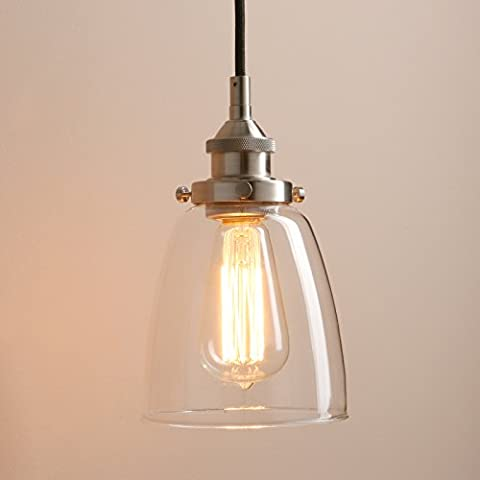 Pathson Industrial Vintage Modern Pendant Light Fitting Hanging Ceiling Lamp