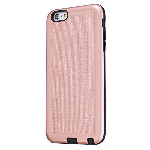 Voguecase® für Apple iPhone 6/6S 4.7 hülle, Schutzhülle / Case / Cover / Hülle / TPU Gel Skin (Mädchen im weißen Kleid 04) + Gratis Universal Eingabestift Punktmuster/Rose Gold