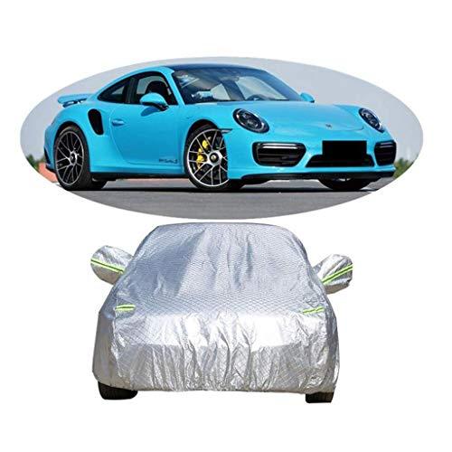 POLKMN Autoabdeckung Sportwagen im Freien Dickes Oxford Wasserdichte spezielle Abdeckung Indoor-Sonnenschutz regendicht (Cabrio Für Auto-alarm)