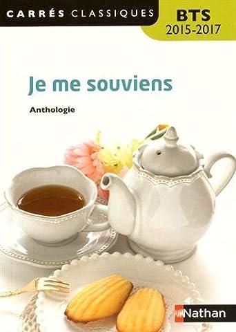 Je me souviens by Anthologie (2015-08-12)