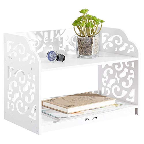 Solid durchbrochener Barock Style keine Nägel verbinden Aufbewahrung Bad Studie Büro Desktop...