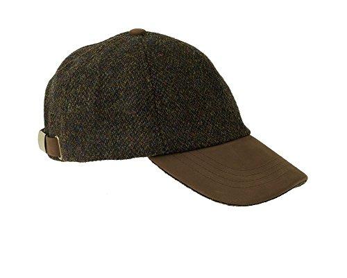 Heather Hats Herren Glencairn Harris Tweed LTH Packung Baseball Kappe/ Hut -...