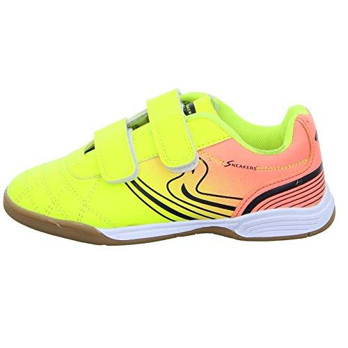 Sneakers 1743 Unisex Kinder Indoor Gelb (Gelb)