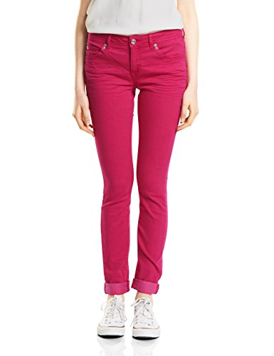 Street One Damen Slim Jeans 371342 Jane, Rosa (Carribean Pink Washed 11387), W31/L30
