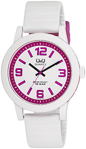 Q&Q Analog White Dial Men's Watch - VR10J011Y image