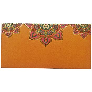 Yellow Gift Envelope