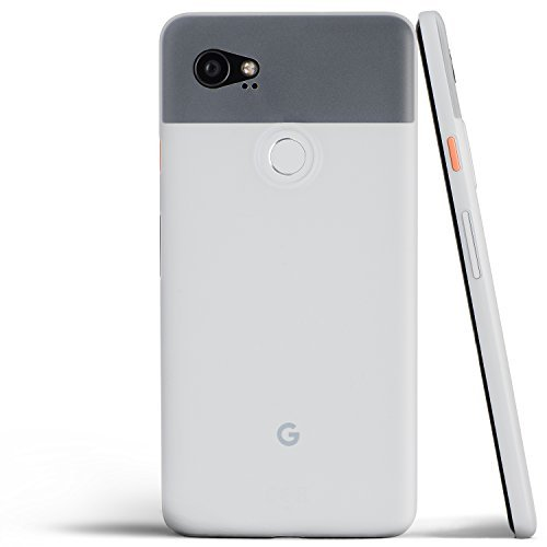 totallee Pixel 2 XL Case, Thinnest Cover Premium Ultra Thin Light Slim Minimal Anti-Scratch Protective (Frosted White)