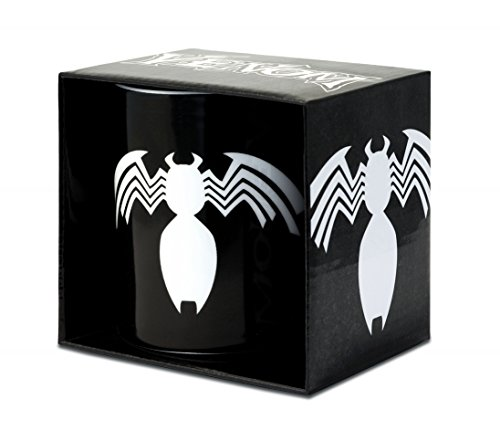 Marvel Comics - Venom Porzellan Tasse - Kaffeebecher - schwarz - Lizenziertes Originaldesign - LOGOSHIRT