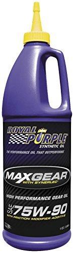 Royal Purple 01300 Max-Gear Synthetic Gear Lube Oil 75W90 Pack of 6 Quarts by Royal Purple - Royal Purple Max Gear
