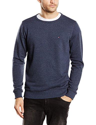 Tommy Jeans Hilfiger Denim Herren Sweatshirt, Blau (Black Iris) Gr. xl