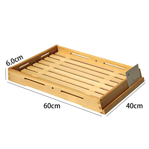 Zzaini Bambú Ranurado Tabla de Cortar