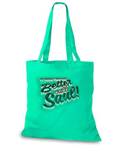 StyloBags Jutebeutel / Tasche Better Call Saul 3D Khaki