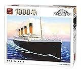 King 5621 Puzzle RMS Titanic, 1000 Teile, 68 x 49 cm