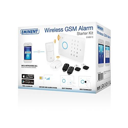Eminent e- Alarma inalámbrica, electrónicos
