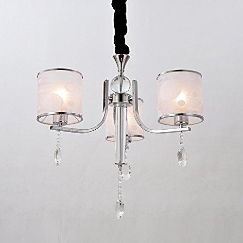 cristallo di luce in stile europeo semplice ed elegante, lampadario