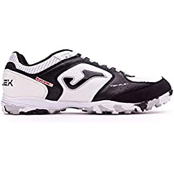 Joma Top Flex 702 White Black Turf - Scarpe Calcetto - Futsal Shoes - TOPW.702.TF (42)