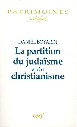 La partition du judaïsme et du christianisme