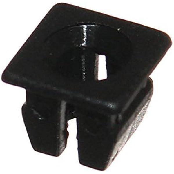 12x Spreizmutter Clipse Spreizdübel Schwarz Elektronik