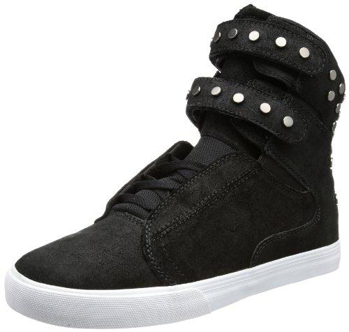 Supra WMNS SOCIETY SW34009, Damen Sneaker, Schwarz (BLACK-WHITE BLK), EU 36.5 (US...