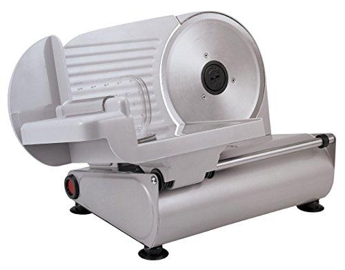 Silva-Homeline AS 520 Allesschneider, kräftige 150 Watt in hochwertiger Metallausführung, rostfreies Edelstahl Universalmesser, stufenlose Regelung (Schnittstärke 0-15 mm)