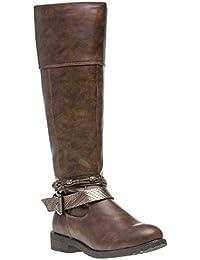 f9e7891946f9 Amazon.fr   botte cavaliere - Chaussures   Chaussures et Sacs