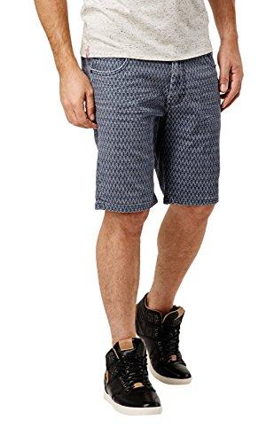 O'Neill LM Stringer Pattern Short-Pantaloncini da uomo, colore: blu BLU blu 32