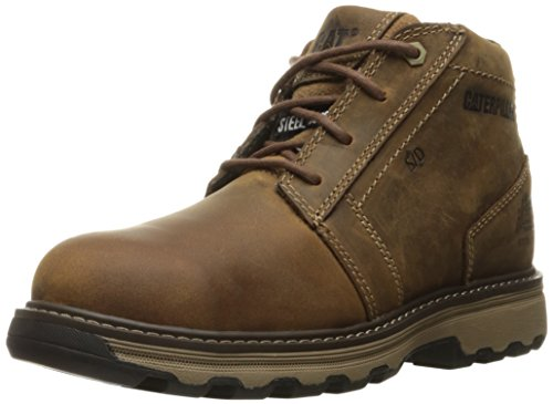 Caterpillar Mens Parker Static Dissipative Steel Toe Construction Boot