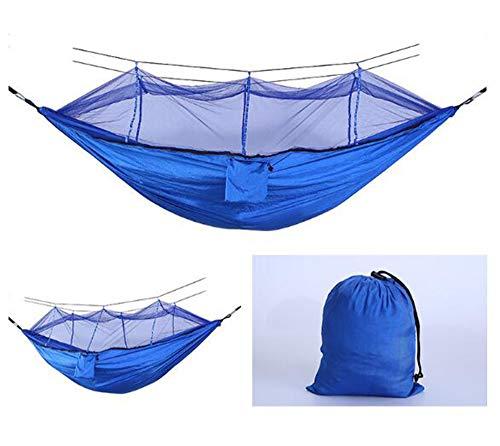 AFFC Outdoor-Camping-Hängematten umfassen Moskitonetze - tragbare Indoor-Outdoor-Rucksäcke für Überleben und Reisen, Bergsteigen, Höfe, Strände und Touren,H