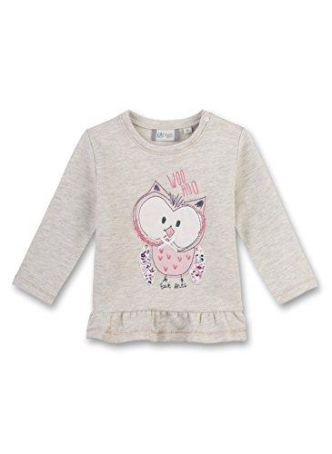 Sanetta Baby-Mädchen Sweatshirt 114117 Beige (Nature Melange 1967), 68