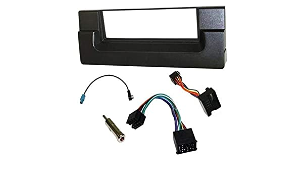 Kit montaggio mascherina adattatore autoradio stereo BMW X5 serie 5 E39 E53 1 DI