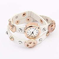 KPHY delicate bracelet/Bracelet Watch Fashion Joker Bracelet Watch Metal Mashup Bracelet Student Accessories C