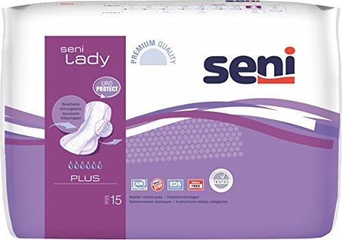 Seni Lady plus (16 x 15 Stk.) Inkontinenzvorlage bei mittlerer Inkontinenz