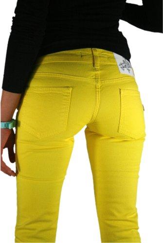 Just Cavalli by Roberto Cavalli-Jeans da donna in diversi colori e dimensioni Gelb W28 (Taglia produttore: 28)