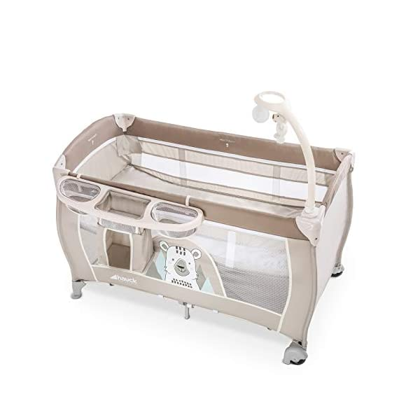 Lettino da Campeggio Hauck Babycenter Friend Hauck Brand: Hauck. Folds very easily and very quickly Travel bed with changing table, ideal for changing babies 8