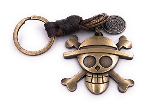 Pirat Schlüsselanhänger Anhänger aus Metall Bronze ()