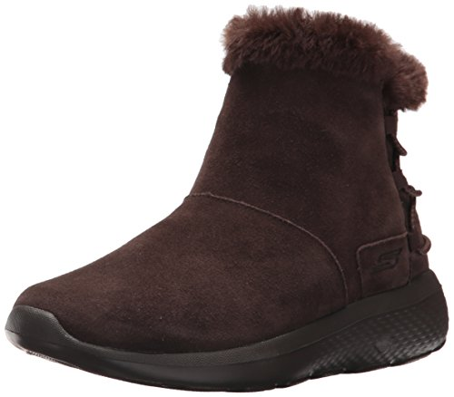 Skechers On-The-go City 2, Botas para Mujer, Marrón (Chocolate), 39 EU