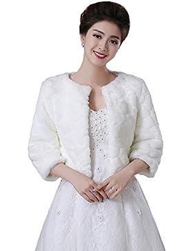 XYX mantón de la piel chal de novia Chal chal de la boda accesorios de la boda wrap chaqueta de la chaqueta de...