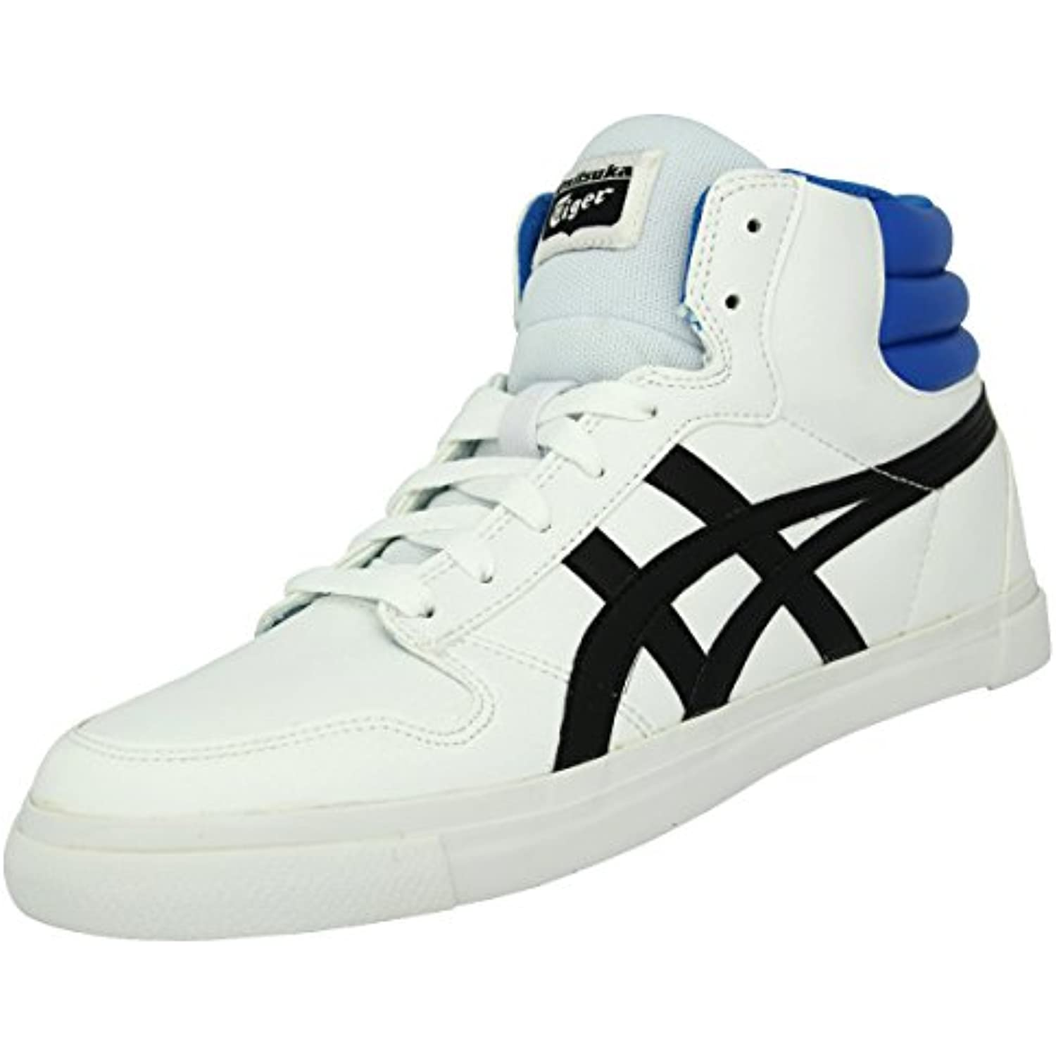 ASICS Onitsuka Tiger A SIST MT Chaussures Mode Sneakers Sneakers Sneakers Homme Noir Bleu Blanc - B00DW2MM3Q - 922568