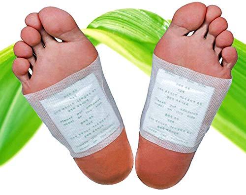 30 Stück Bambus-Pflaster Fuß-Pflaster, Fusspads für die Nacht, Qualitativ hochwertig mit Turmalin und Vitamin-C, 100{66adcdf3e4ae33086c21c52c451bd3126eeab44815f5641b17ea33c12b55d9ef} natürlich, Fuß-Pads