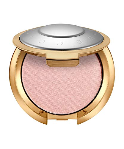 BECCA Light Chaser Highlighter - Rose Quartz Flashes Seashell - rose with a hot pink shift -