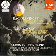 Rachmaninov : Concerto pour piano n° 2 / Tchaikovski : Roméo et Juliette ; Francesca da Rimini