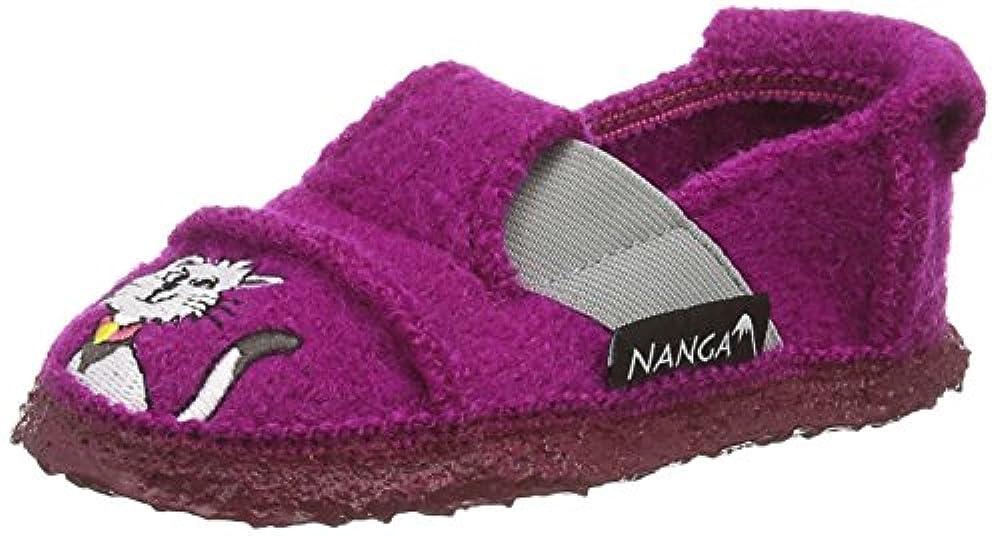 Тапочки Nanga Mädchen Flache Hausschuhe, Pink (beere 24), 34 EU