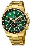 Jaguar Herrenarmbanduhr Chronograph Executive J864/1 Special Edition vergoldet