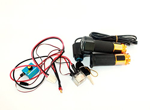 Sistema de control de velocidad modificado para requisitos particulares L-faster con ESC y el interruptor de la válvula reguladora para Electric Town 7XL Town 9EF Scooter Dispositivo de la correa (kit3)