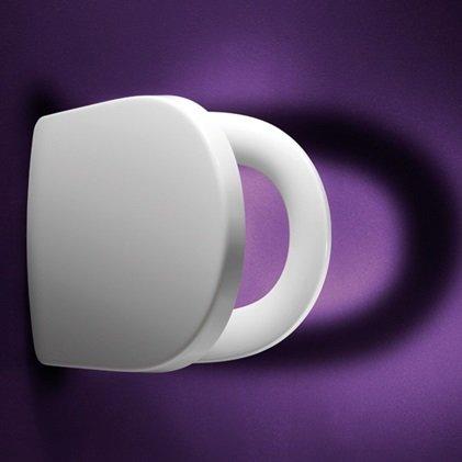 Preisvergleich Produktbild Pressalit Delight WC-Sitz weiß, mit Absenkautomatik, 492000D02999, passend zu Villeroy & Boch Subway I (660010)