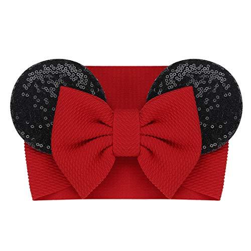 Minnie Kind Pailletten Ohren - Agoky Baby Beanie Mütze mit Pailletten