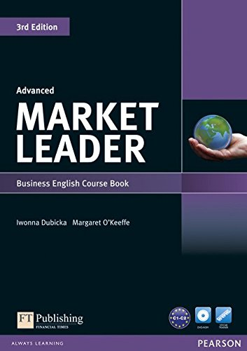 Market Leader 3rd Edition Advanced Coursebook & DVD-ROM Pack
