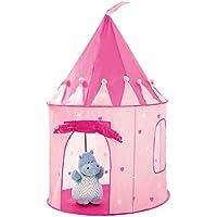 Girls Pink Play Tent Princess Castle Childrens Kids Pop Up Indoor Outdoor Castle
