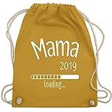 Schwangerschaft - Mama 2019 loading - Unisize - Senfgelb - WM110 - Turnbeutel & Gym Bag